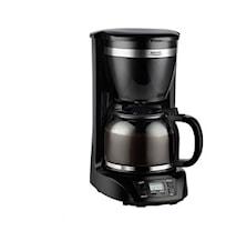 Kaffebryggare Erika 1,5L Svart