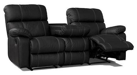 Leo 3-sits reclinersoffa