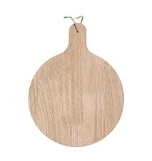 Skærebræt Gummitræ 28 cm