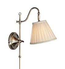 Charleston Vägglampa Oxide/Beige