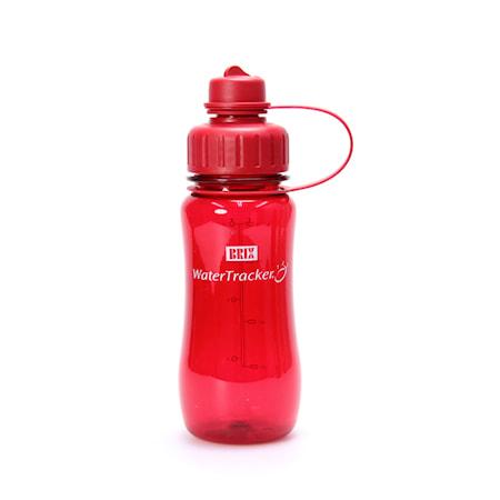 Brix Water Tracker 0,5L, red