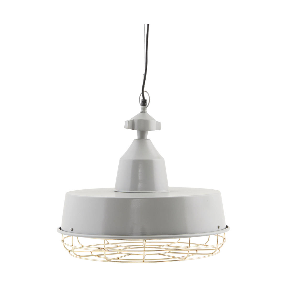 Gasby Lampa Grå/Mässing 40 cm