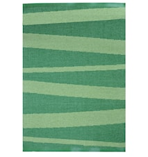 Åre Grön/mörkgrön matta 1 m