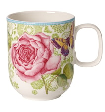 Rose Cottage Mugg 0,35l-green