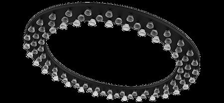 Bild av JSPR Halo large trippel taklampa Svart