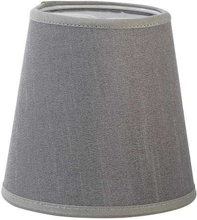 PR Home Queen Lampskärm Silke Ljusgrå 12 cm