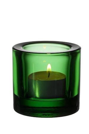 Kivi ljuslykta 60mm grön /presentfrp