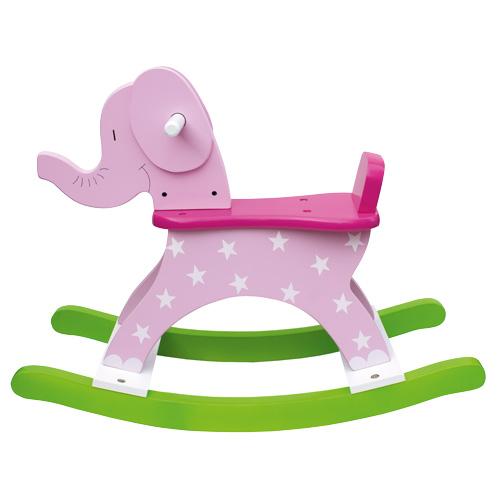 Jabadabado Gungdjur Elefant Rosa
