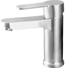 Tvättställsblandare Steel Arc Round