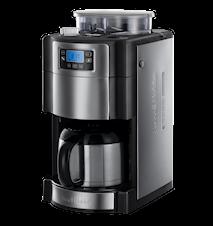 Grind & Brew Thermal Kaffebryggare med Kvarn och Timer, Termoskanna