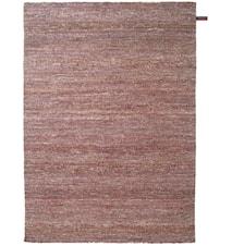 Silk handvävd matta – Rödbrun