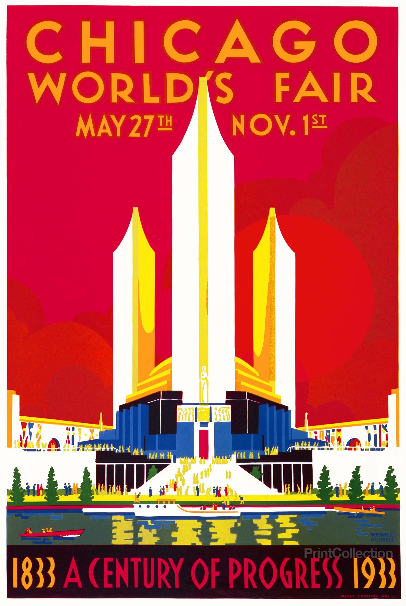 Chicago Worlds Fair poster