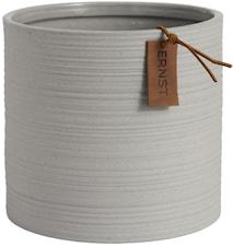 Kruka d18,5 h17 cm, ljusgrå