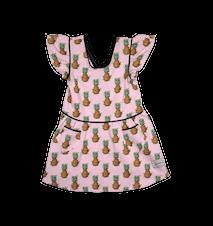 Børneforklæde (klänning) - Pineapple Pink