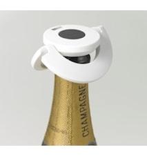 Gusto Champagnekork med Låsfunktion Vit