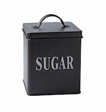 Förvaringsburk Sugar Metall 14x11,5 cm