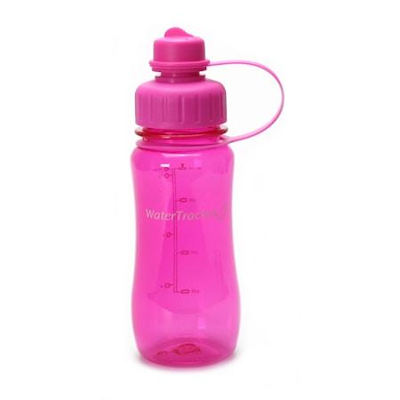 Brix Water Tracker 0,5L, hot pink