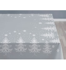 Bordsduk 150x320 Winterland grå