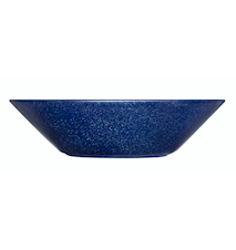 Teema tallrik djup 21 cm melerad blå