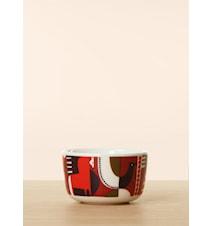 Talvitarinaskål 2,5 dl - Hvit, plomme, rød