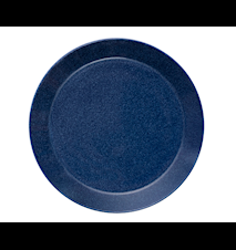 Teema tallerken 26 cm melerad blå