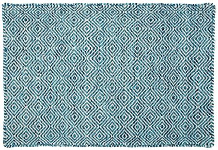 Orissa matta - Blå