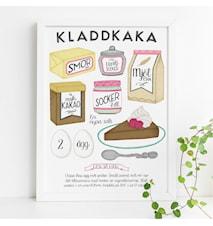Kladdkaka poster