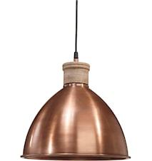 Roseville Taglampe Kobber 32cm