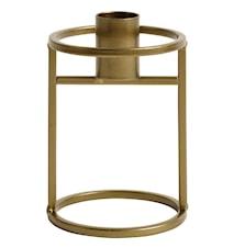 Ljusstake 10 cm - Antik guld