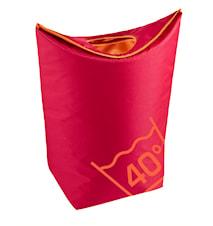 Tvättkorg Röd 79x27 cm
