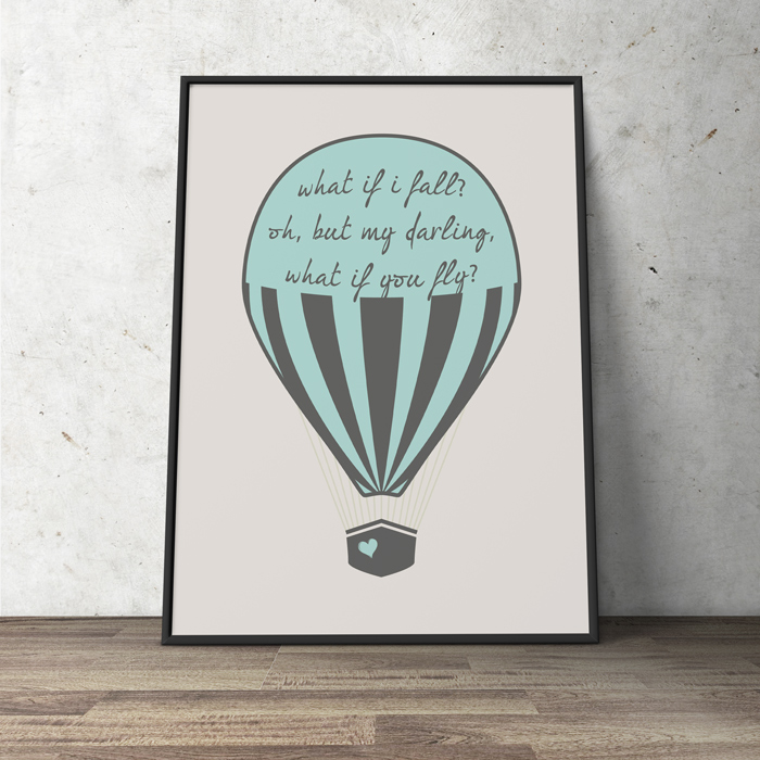 Baloons poster