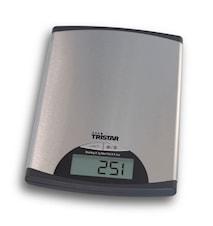 TRISTAR Kjøkkenvekt Rustfritt stål 5 kg