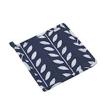 Grytlapp blå/grå leaves L20cm