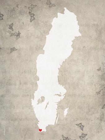 Bild av Itas design Malmö poster