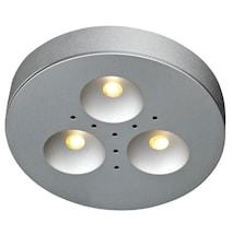Kappa Taklampa 3x1W 3-set Aluminum