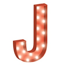 Cirkuslampan Stor - J