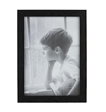 Tavelram Glas/Svart 21x30 cm