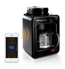 SkyCoffee Bluetooth/WiFi-styret Kaffebrygger med Kværn