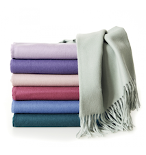 Luxury throw pläd