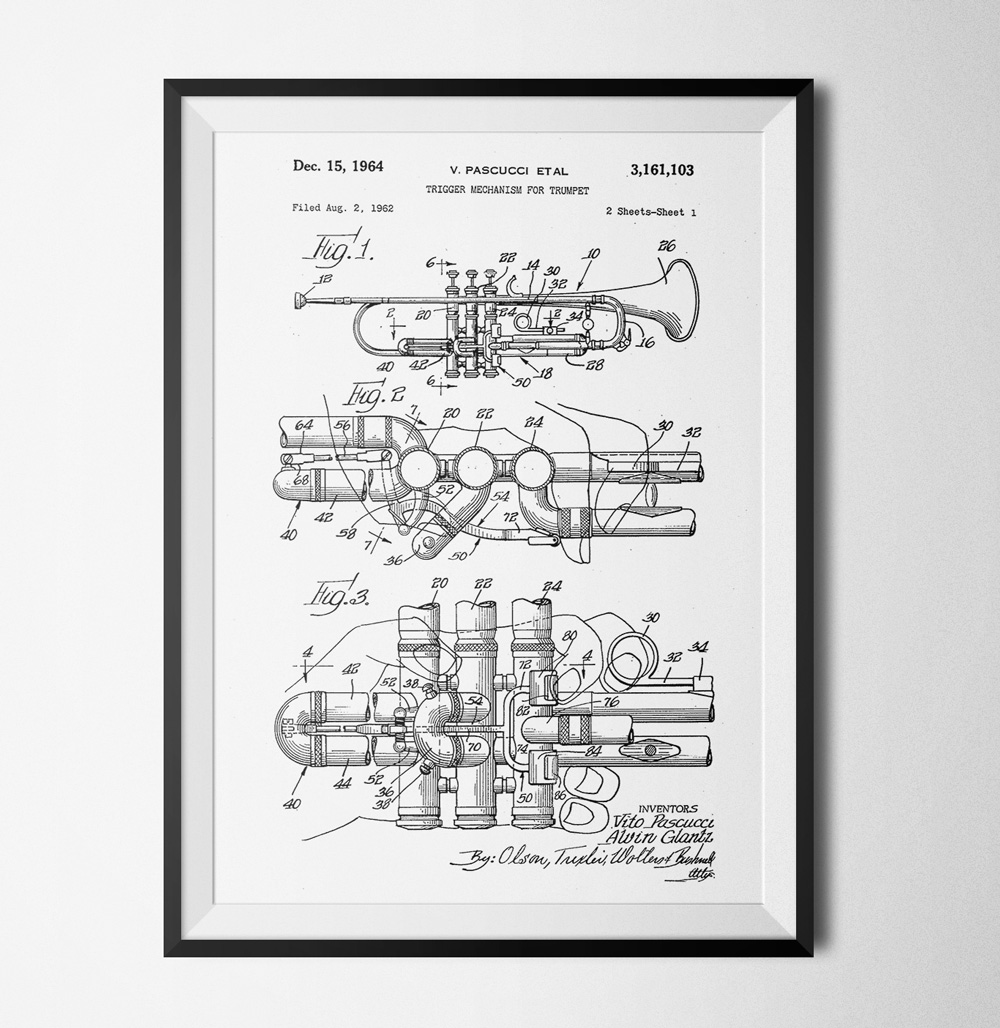 51 Patent 2 poster - 40x60