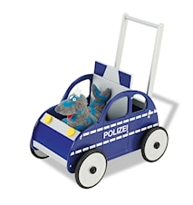 Polisbil René gåvagn