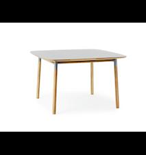 Form Bord Grå/Eik 120x120 cm