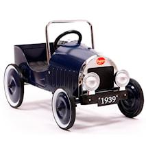 Classic blue trampbil