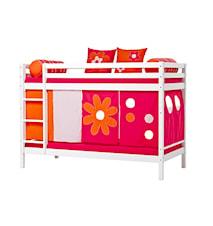 Basic våningssäng – Flower power sängpaket