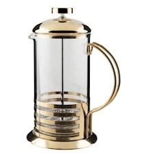 Kaffepressare rostfri glas förmässingad rymd 6 dl