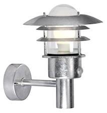 Lønstrup 22 Vägglampa - silver - med sensor