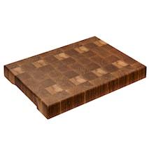 Käsin valmistettu leikkuulauta tammea, katkopinnat, 41 cm