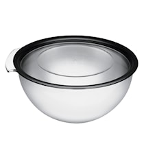 Touch Rustfri skål med låg, 5 liter 5 l