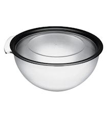 Touch Rostfri skål med lock, 5 liter 5 l