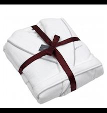 Premium Velour Badrock Present Vit XS